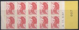 France - Yvert Carnet N° 2427-C2 Daté 11.9.87 - Neuf Et Luxe - Cote 15 Euros - Uso Corrente
