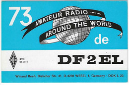 QSL Card - Wesel - Germany - H7758 - Radio Amateur