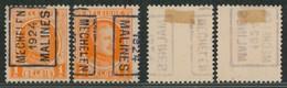"Houyoux - N°190 Préo ""Mechelen 1924 Malines"" Position A/B Complet (n°3283) - Roller Precancels 1920-29"