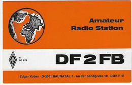QSL Card - Baunatal - Germany - H7761 - Radio Amateur