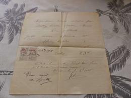 13/9. 33 - Facture, Réparations Diverses Maçonnerie, Maison Bernès  MIRANDE, Gers, 1918 - Artigianato