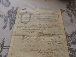 13/9. 34 - Facture, Travaux De Bâtiment , Chapellerie,  Etienne Busquet  MIRANDE, Gers, 1925 - Artigianato