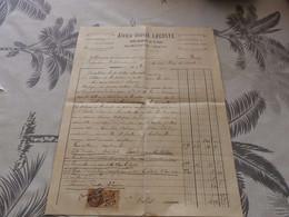 13/9. 37 - Facture, Menuiserie Planchers, Charpentes, Alexis-Joseph Lacoste , MIRANDE, Gers, 1926 - Artigianato