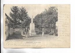 70 - ESMOULINS - Le Monument - Personnage. Carte Précurseur - Andere Gemeenten