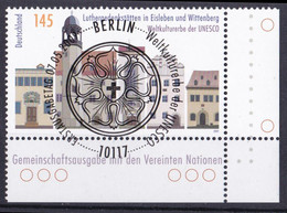 (2736) BRD 2009 O/used (Eckrand Unten Rechts ESST) (A1-12) - Used Stamps