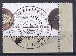 (2711) BRD 2009 O/used (Eckrand Unten Rechts ESST) (A1-12) - Used Stamps