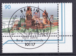 (2712) BRD 2009 O/used (Eckrand Unten Rechts ESST) (A1-12) - Used Stamps