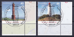 (2742-2743) BRD 2009 O/used (Eckrand Unten Rechts ESST) (A1-12) - Used Stamps