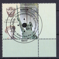 (2738) BRD 2009 O/used (Eckrand Unten Rechts ESST) (A1-12) - Used Stamps