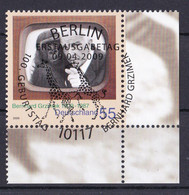 (2731) BRD 2009 O/used (Eckrand Unten Rechts ESST) (A1-12) - Used Stamps