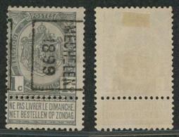 "Fine Barbe - N°53 Préo ""Mechelen 1899"" Position B (n°222) / Cote 20e+ - Rollo De Sellos 1894-99"