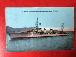 N°2738. MARINE MILITAIRE FRANCAISE. CONTRE-TORPILLEUR TIGRE. - Equipment
