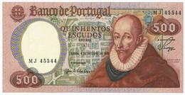 PORTUGAL - 500 Escudos 4. 10. 1979. P177, UNC. (P008) - Portugal