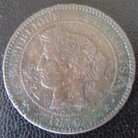 France - Monnaie 10 Centimes Cérès 1876 A (Paris) - D. 10 Centesimi