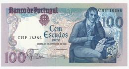 PORTUGAL - 100 Escudos 24. 2. 1981. P178b, UNC. (P012) - Portugal