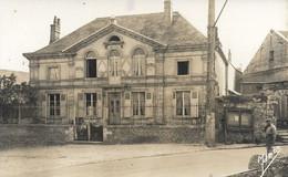 02 - Molinchard : La Mairie Et L'Ecole - CPSM écrite - Other Municipalities