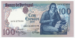 PORTUGAL - 100 Escudos 31. 1. 1984. P178c, UNC. (P013) - Portugal