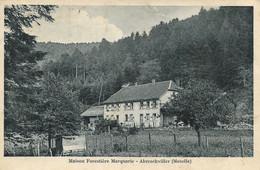 57 - Abreschviller : Maison Forestière  Marquarie - CPSM écrite - Otros Municipios