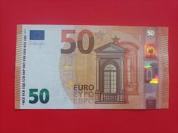 50 EURO FRANCIA(UA) U014A1 First Position Low Nummer, DRAGHI - 50 Euro