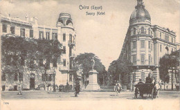 Egypte - Le Caire - Cairo, Saucy Hotel (Savoy Hotel Mauvais Orthographe) - Cairo