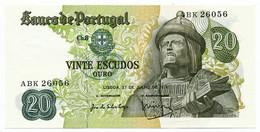 PORTUGAL - 20 Escudos 27. 7. 1971. P173, UNC. (P004) - Portugal