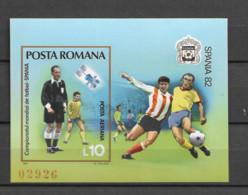 1981 MNH Romania Mi Block 188 Postfris** - Ongebruikt