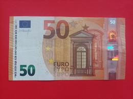 50 EURO FRANCE(UA) U006A1 FIRST POSITION, LOW NUMMER, DRAGHI - 50 Euro
