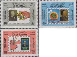 Ref. 638170 * NEW *  - JORDAN . 1985. GENTE FAMOSA EN LOS SELLOS - Jordanië
