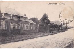 02 MONDREPUIS La Poste 1926 - Other Municipalities