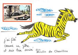 87-SAINT-GENCE- MOULIN DE CHEVILLOU- J'AI FILE COMME UN ZEBRE ET SUIS BIEN ARRIVE AU MOULIN DE CHEVILLOU - Autres Communes