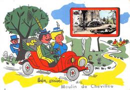 87-SAINT-GENCE- MOULIN DE CHEVILLOU-BIEN ARRIVES AU MOULIN DE CHEVILLOU - Autres Communes