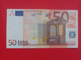 50 EURO SPAIN(V) M009A1 First Code, Duisemberg - 50 Euro