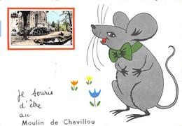 87-SAINT-GENCE- MOULIN DE CHEVILLOU-JE SOURIS D'ÊTRE AU MOULIN DE CHEVILLOU - Autres Communes