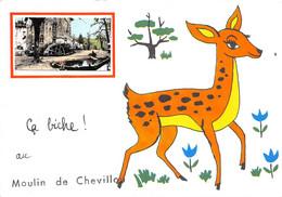 87-SAINT-GENCE- MOULIN DE CHEVILLOU- CA BICHE AU CHEVILLOU - Autres Communes