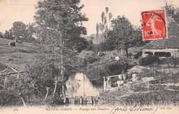 Le MESNIL-SIMON (Calvados) - Paysage Aux Douaires - Pêche à La Ligne - Otros Municipios