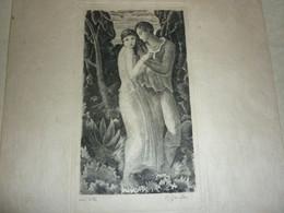 P.Gandon Graveur Dessinateur - Prints & Engravings