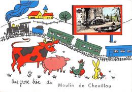 87-SAINT-GENCE- MOULIN DE CHEVILLOU- GROSSE BISE DU MOULIN DE CHEVILLOU - Autres Communes