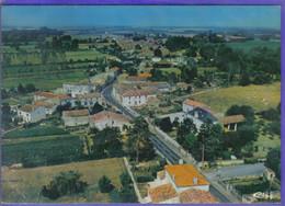 Carte Postale 17. Brizambourg  Avenue De Cognac Vue D'avion     Très Beau Plan - Otros Municipios