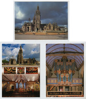 29  PLEYBEN  L'église + L'orgue + L'enclos Paroissial - Pleyben