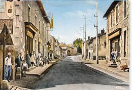 87-ARADOUR-SUR-GLANE- RUE CENTRALE DE L'ANCIEN VILLAGE - Oradour Sur Glane