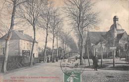 Eglise Du Breuil Et Avenue De MEZIDON - Otros Municipios