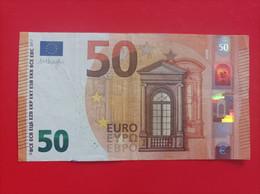 50 EURO SPAIN(VA) V005A1 First Position, DRAGHI - 50 Euro