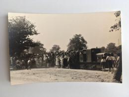 SCOUT Jamboree Paix Carte Photo 1947 Moisson France à L'assaut Du Train Scoutisme 9x14cm TBE 2 SCANS - Scouting