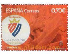 Ref. 640043 * MNH * - SPAIN. 2021. CENTENARIO CLUB ATLETICO OSASUNA - Non Classés