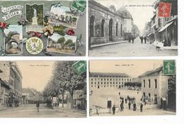 01 - Lot De 8 Cartes Postales De BELLEY  ( Ain ) - Voir Scans Et Liste Ci-dessous - Belley