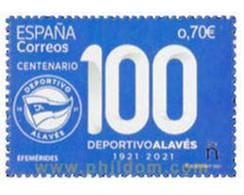 Ref. 640040 * MNH * - SPAIN. 2021. CENTENARIO DEL DEPORTIVO ALAVES - Non Classés