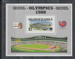 Solomon Islands 1988 Seoul Olympic Games  Souvenir Sheet MNH/** (H70) - Summer 1988: Seoul