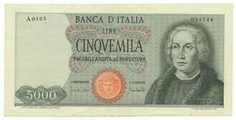 ITALY, ITALIA - 5000 Lire 20. 1. 1970. P98c, XF+ (T059) - 5000 Liras