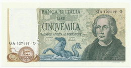 ITALY, ITALIA - 5000 Lire 11. 4. 1973. P102b, UNC. (T064) - 5000 Liras