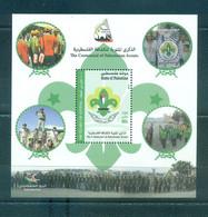 Palestine 2014- 100 Years Of Palestinian Scouts M/sheet - Palestine